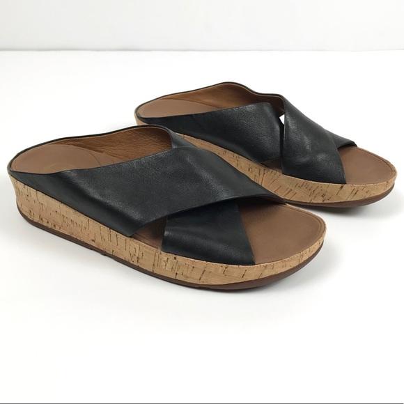 fitflop lulu black leather
